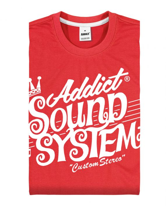 ADDICT CUSTOM STEREO TEE