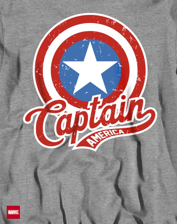CAPTAIN AMERICA VINTAGE SHIELD