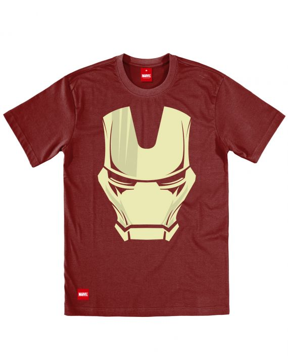 iron man face of iron tee addict. Black Bedroom Furniture Sets. Home Design Ideas
