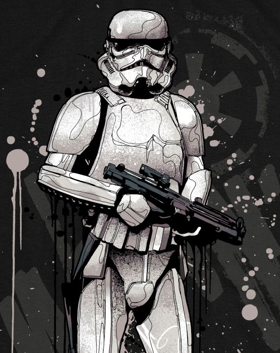 ADDICT STORM TROOPER TEE