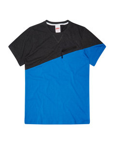 View the ADDICT ASYMETRIC TECH ZIP T-shirt from the  collection