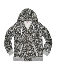 View the ADDICT BASE ZIP HOODY - KWILLS from the  collection
