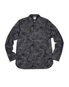 View the ADDICT CHAMBRAY CAMO SHIRT from the  collection