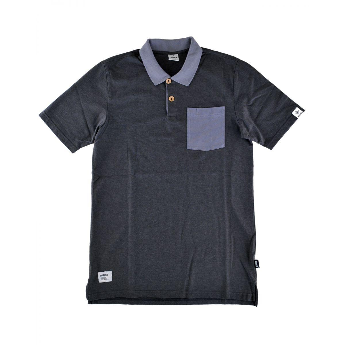 Addict 3 button polo shirts addict for 3 button polo shirts